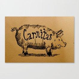 Carnitas  Canvas Print