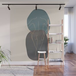 Line Female Figure 80 Wall Mural
