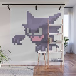 Pixel Haunter Wall Mural
