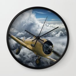T-6 Texan Wall Clock