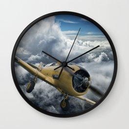 T-6 Texan Wall Clock