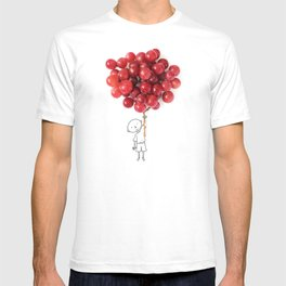 Boy with grapes - NatGeo version T-shirt