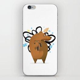 small and big bear iPhone Skin