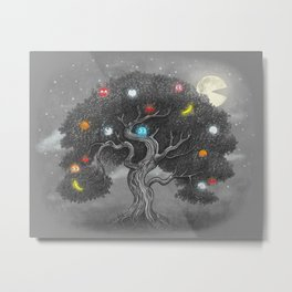 Midnight Snack Metal Print