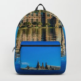 Netherlands Hague Houses Cities Building Backpack