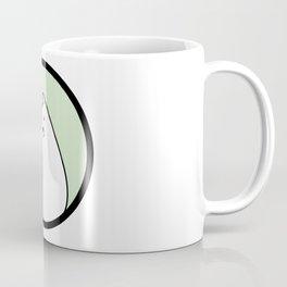 Little White Derpy Kitty Coffee Mug
