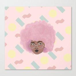 Bubblegum Girl Canvas Print