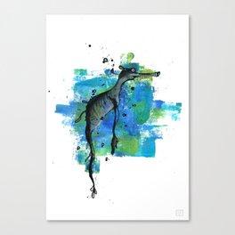 Weedy Seadragon Canvas Print