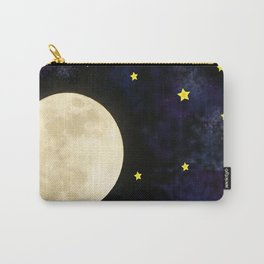 moon in space Carry-All Pouch