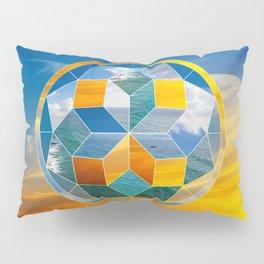 Sacred geometry sunset Pillow Sham