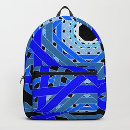 Not Quite Tangled Inside Out (Black Light Version) Backpack
