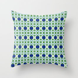 Blue Sapphires - this design goes well with Blue and Green Calm Throw Pillow