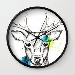 Stag II Wall Clock