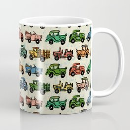 Cars and Trucks Coffee Mug