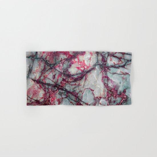 Grey Marble Hand & Bath Towel