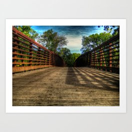 'Bridge' Art Print