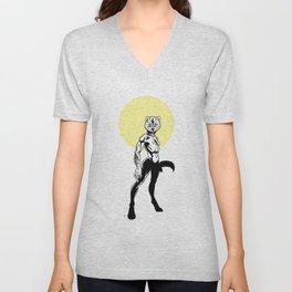 Loup-garou Femme Unisex V-Neck