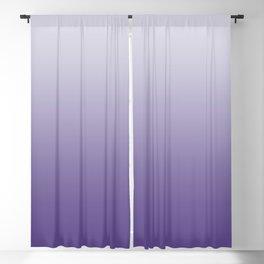 Ombre Ultra Violet Gradient Motif Blackout Curtain