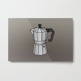 Espresso coffee maker Metal Print