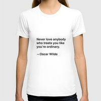 oscar wilde T-shirts featuring Oscar Wilde on Love by Quotevetica