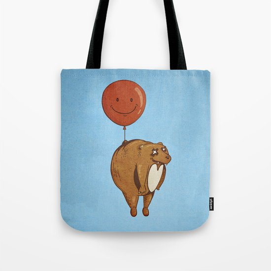 Float On, Bear, Float On Tote Bag