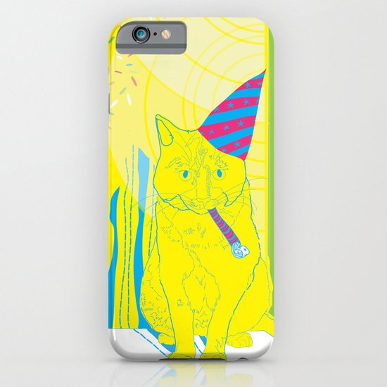 Party Cat iPhone & iPod Case