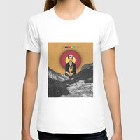 frida T-shirts featuring FRIDA by Estera Lazowska