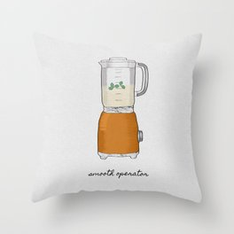 Smooth Operator, Kitchen Print Throw Pillow