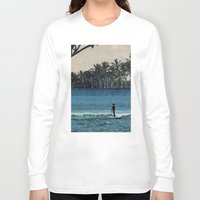 aloha Long Sleeve T-shirts featuring Aloha by cause defect