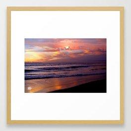 Island in the Sky Sunset by Aloha Kea Photography Framed Art Print