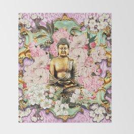 Tranquil Buddha Throw Blanket