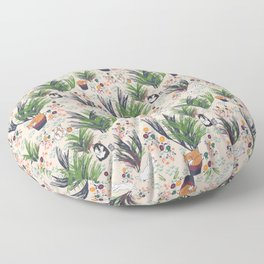 Brushwood Dogs Floor Pillow