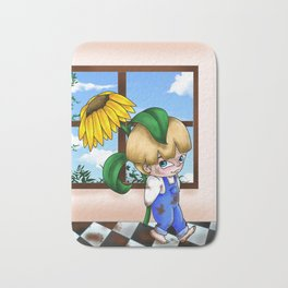 Flower Boy Bath Mat