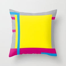 P.H. - Yellow Throw Pillow