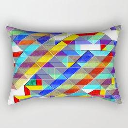 Geometric Bird of Prey Rectangular Pillow