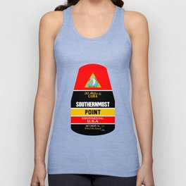 Southern Most Point, Key West, Florida/サザン・モスト・ポイント Unisex Tank Top
