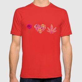 i Heart Pot Leaf T-shirt