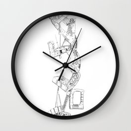 The Tower of Wars Wall Clock
