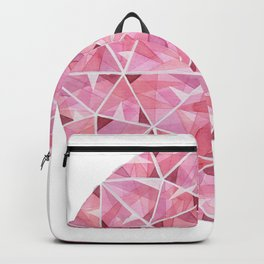 Red Round Gem Backpack