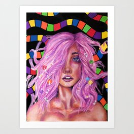Princess Lollipop Art Print
