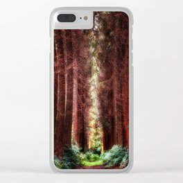 The Pines Clear iPhone Case