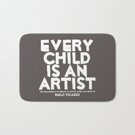 Artist - Quotable Series Bath Mat
