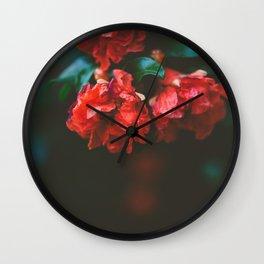 Pomegranate Study, No. 2 Wall Clock