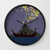 tangled Wall Clocks featuring Tangled by TheWonderlander