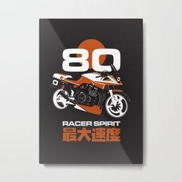 80 Racer Spirit Katana Metal Print