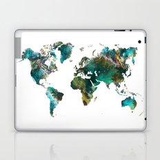 Map of the World tree Laptop & iPad Skin