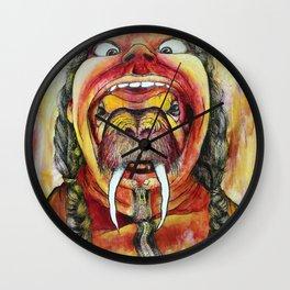 Human hat Wall Clock