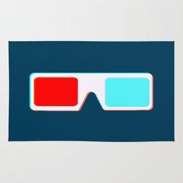 3-D Glasses Rug