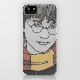 The Boy Who Lived iPhone Case