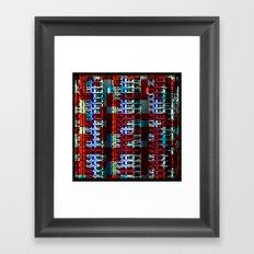 IMMEUBLE Framed Art Print